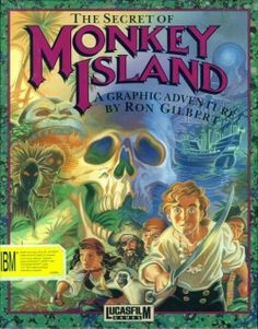 The Secret of Monkey Island (1990) - I have many a fond memory of guiding Guybrush Threepwood through his misadventures in this Lucasfilm Games classic.  While I loved the King's Quest series, the constant dying was a bit annoying.  Monkey Island was the first PC adventure game I played that completely did away with killing your character.  Regardless of what you did (however stupid), you did not die and could focus solely on deciphering the game.  Time well spent in my opinion.