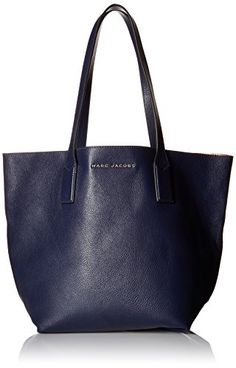 6b1256a5a05265 Marc Jacobs Wingman Shopping Bag, Midnight Blue/Multi ** Click image for  more details.