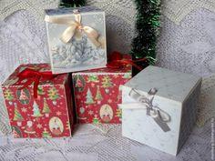 Создаем коробочку для новогоднего шарика - Ярмарка Мастеров - ручная работа, handmade