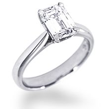 Cathedral Solitaire Engagement Ring | Diamond Ideals