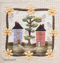 My Cozy Village: 9 Quilt Blocks to Appliqué & Embroider by Felicia T. Brenoe