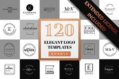 Elegant Logo Pack BUNDLE by Graphic Dash on @creativemarket