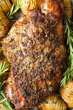 greek leg of lamb recipes * greek recipes lamb ; greek leg of lamb recipes ; Lamb Recipes Oven, Roast Recipes, Cooking Recipes, Recipes Dinner, Greek Lamb Recipes, Lamb Roast Recipe, Roast Leg Of Lamb Recipe Bone In, Easy Leg Of Lamb Recipe, Gastronomia