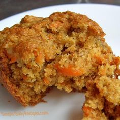 Carrot-Oatmeal Muffins: from Devil's Food Cake Murder by Joanne Fluke.
