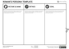Roman Pichler new, improved persona template: http://www.romanpichler.com/tools/persona-template/
