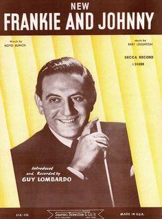 GUY LOMBARDO - FRANKIE AND JOHNNY - 1936 BLUES - MUSIK BERT LEIGHTON - MUSIKNOTE