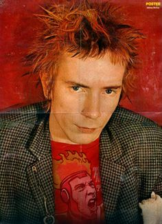 """dimmu-burger: """" (young) pickles headcanon - john lydon aka johnny rotten of the sex pistols """" Johnny Rotten, God Save The Queen, Punk Subculture, Punk Mode, New Wave Music, 70s Punk, Thing 1, Punk Fashion, Fashion Teens"""