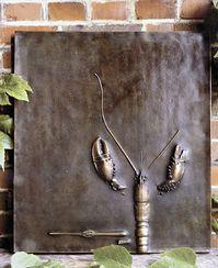 """Paul Wunderlich: """"Großes Relief mit Hummer"""", Bronze"""