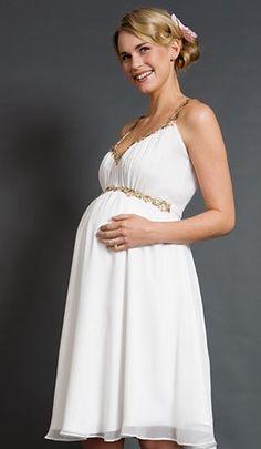2011 Novos vestido branco vestido especial para custome grávida feitos e tamanho do cliente plus size PE019
