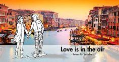 <3 Packe die Gelegenheit am Schopf und vereise mit deiner/deinem Liebsten am romantischsten Tag des Jahres, in ausgewählte Orte, die deine Beziehung neu beflügeln werden.