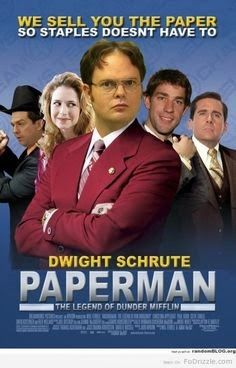 Image result for dwight schrute movie posters