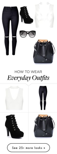 """Everyday Outfit"" by alyssariche371 on Polyvore featuring N°21 and Alexander McQueen"