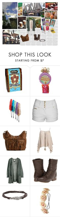 """""""Summer in Hogsmeade"""" by violetrose74 ❤ liked on Polyvore featuring Dylan's Candy Bar, Jane Norman, Mix No. 6, Sans Souci, Julie Fagerholt Heartmade, Madden Girl and Charlotte Russe"""