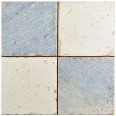 "Show details for 13"" x 13"" Artisan Damero Azul FS-A Ceramic Floor/Wall Tile"