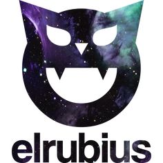 Elrubius website logo