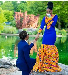 Couple's outfit/ ankara women dress/prom couple clothing/african print dress/african men's clothing/african women's clothing/ prom dress African Prom Dresses, African Wedding Dress, African Fashion Dresses, African Attire, African Wear, African Women, African Dress, African Style, Fashion Outfits
