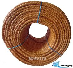 NEW 8mm x 220m Coil Blue Heavy Duty Poly Rope Coils Polypropylene PP Pulley