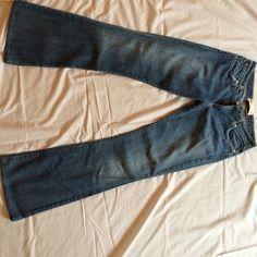 "Selling this ""Medium wash denim boot leg jeans. Made in USA."" in my Poshmark closet! My username is: krdefacci. #shopmycloset #poshmark #fashion #shopping #style #forsale #Paper Denim #Denim"