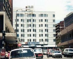 Chelsea Hotel Hillbrow viewed from Kotze Street Johannesburg Skyline, African Quotes, Chelsea Hotel, World View, The Old Days, Back In The Day, Old Pictures, South Africa, Landscape Photography