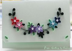 19 Quick Paper Quilling Ideas For Beginners Quilling Paper Craft, Quilling Flowers, Quilling Cards, Flower Birthday Cards, Birthday Card Design, Quilling Techniques, Card Making Techniques, Quilling Designs, Quilling Ideas