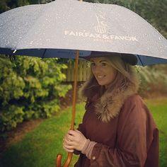 Survive that inevitable torrential British rain shower with the signature Fairfax & Favor Umbrella. Fairfax And Favor, Brollies, Rain Shower, Outdoor Decor, Rain