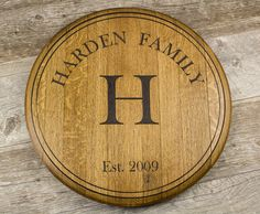 Personalized+Custom+Engraved+Wine+Barrel+by+RockCreekFurnitureCo