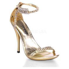 PLEASER Eclair Women Prom Shoe High Heel