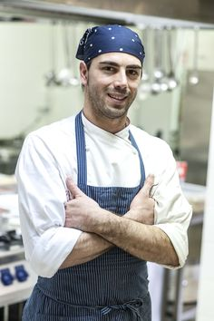 Our Executive Chef Vito Giannuzzi.