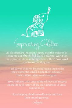 Affirmation - Empowering Children by CarlyMarie