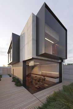 Residential Architecture, Amazing Architecture, Contemporary Architecture, House Architecture, Computer Architecture, Architecture Portfolio, Gothic Architecture, Contemporary Design, Modern Home Design