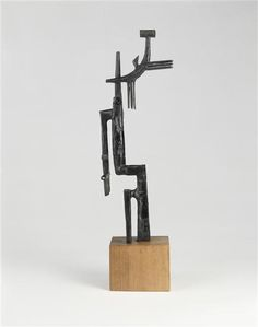 Julio Gonzalez, The small sickle, 1937, Bronze, National Museum of Modern Art - Georges Pompidou Center, Paris