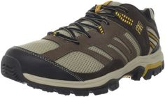 Columbia Men's Shasta Ridge Low Trail Shoe,Dune/Golden Glow,12 W US -- Unbelievable  item right here! : Camping