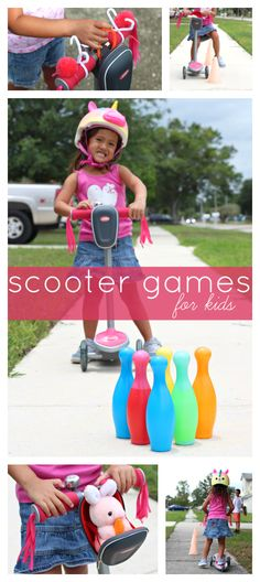Scooter Games for Kids | List of fun games for kids to play on their scooters! Raising Whasians via @raisingwhasians #RadioFlyer100 #ad
