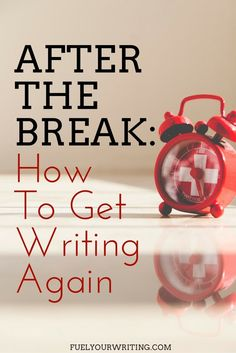 How long can you go without writing and still call yourself a writer?