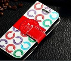 New iPhone 5 / 5S Coach Flip Wallet Leather by MarysRingsAndThings, $48.00 https://www.etsy.com/listing/200508037/new-iphone-5-5s-coach-flip-wallet?ref=listing-shop-header-1