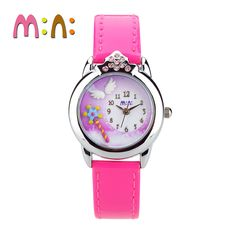 Rabbit children watch teenage student girl quartz belt