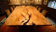 Tavolo da pranzo / moderno / in legno / indoor 0174 JOHN HOUSHMAND