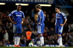 Feeling Blue? Drogba has hinted Torres wasn't cut out for Chelsea