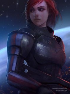 (1) Commander Jane Shepard added 351 new photos to... - Commander Jane Shepard
