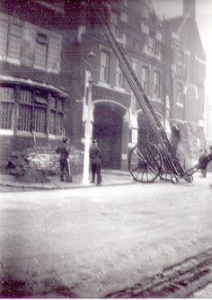 circa 1939 Brooke Road firestation, Stoke Newington, London