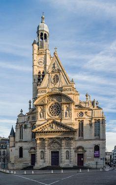 St-Etienne-du-Mont Exterior, Paris, France - Diliff - Église Saint-Étienne-du-Mont de Paris — Wikipédia