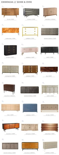108 of our Favorite Credenzas (at every price point) - Emily Henderson