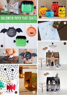 Les Mercredis de Momes : Les p'tits bricolages d'Halloween - Le blog de momes.net
