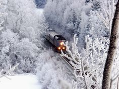 Linda Cutsforth got this shot of a train passing through Burns Lake, B. Falling From The Sky, Best B, Winter Photography, Winter Theme, Winter Christmas, Oh The Places You'll Go, British Columbia, Wonderful Time, Winter Wonderland