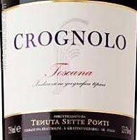 2009 Tenuta Sette Ponti Crognolo Toscana IGT, Tuscany, Italy 90 pt., 21 pounds