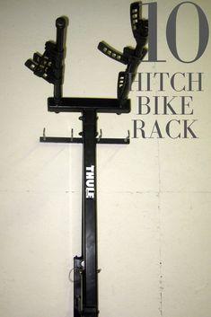 #HitchBikeRack Hitch Mount Bike Rack, Best Bike Rack, Car Buying Guide, Bike Parking, Cool Bikes, Things To Come, Leather
