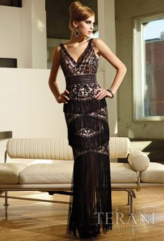 If I ever have a need for an evening gown, this would be the one!  I love this.