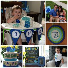 Simple Suburbia: Carson's First Birthday Party!