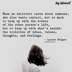 When An Introvert Cares About Someone - https://themindsjournal.com/introvert-cares-someone/