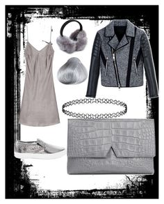 """gunmetal grunge"" by kaye-viecelli on Polyvore featuring Vince, Neil Barrett, White House Black Market, women's clothing, women's fashion, women, female, woman, misses and juniors"
